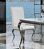 Esszimmerstuhl-Luca-barock-Design-Kunstleder-wei-Stuhl-Sthle-Esszimmer-Esszimmersthle-rokoko-weiss