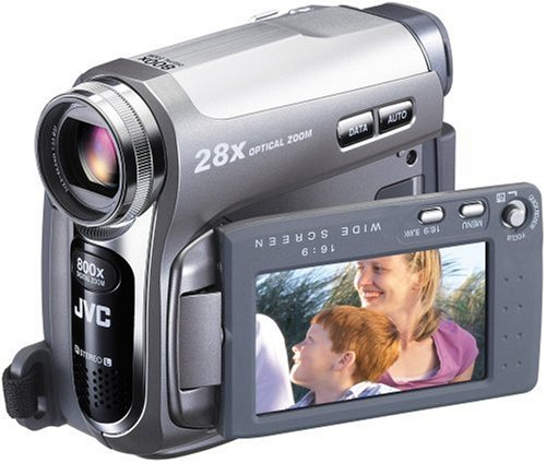 JVC GR-D 725 Camcorder (miniDV, 28-fach opt. Zoom, 6,9 cm (2,7 Zoll) Display)