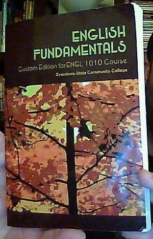 English Fundamentals: Custom Edition for ENGL 1010 Course at Dyersburg State Community College (Tennessee)