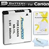 Replacement NB-11L Battery Kit For Canon Powershot ELPH 180, ELPH 190 IS, 150 IS, ELPH 340 HS, A4000 IS, SX400 IS, ELPH 170 IS, ELPH 160, SX410 IS, SX420 IS, ELPH 350 HS, ELPH 360 HS Digital Camera