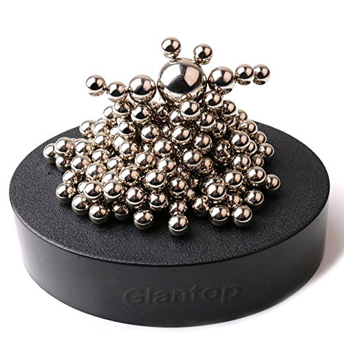 Glantop® Magnetic Sculpture Desk Toy for Intelligence Development and Stress Relief (Set of 160 Balls, 1 Magnet Base) (Gifts For 21 Year Old Girl compare prices)