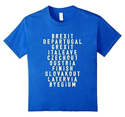 Brexit Britain United Kingdom EU British flag UK funny Shirt