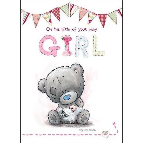 Baby Girl Card Messages front-1025451