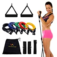 Exercise variable Resistance band 5-l…