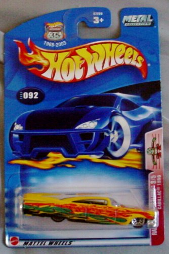 Hot Wheels 2003 Radical Wrestlers 3/5 Cadillac 1959 YELLOW