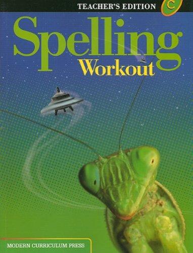 Spelling Workout: Level C, Teacher's Edition