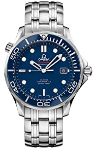 Omega Seamaster Blue Dial Automatic Stainless Steel Mens Watch 212.30.41.20.03.001 from Omega