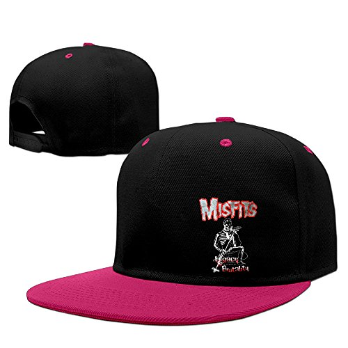 [Misfits Legacy Of Brutality Hip-Hop Sports Snapback Hats Cap] (Jumbo Hip Hop Adult Hat)