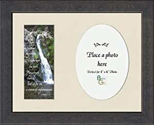 "Memorial Scripture Gift Photo Frame 8"" X 10"""
