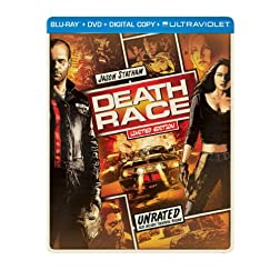 Death Race (Steelbook) (Blu-ray + DVD + Digital Copy + UltraViolet)