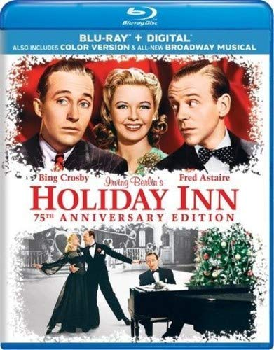 Blu-ray : Holiday Inn (75th Anniversary Edition) (Anniversary Edition, Digital Copy, 2 Pack, With Movie Cash)
