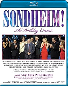 Sondheim! The Birthday Concert [Blu-ray]