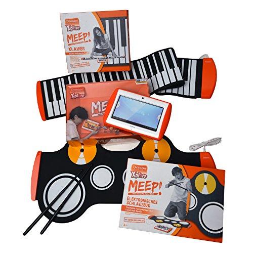 Oregon Xplore Scientific MEEP in set da 3 unità - 1 tablet per bambini - 1 tastiera e 1 batteria elettronica