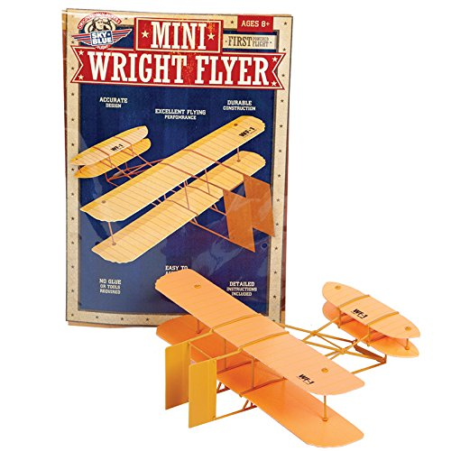 Sky Blue Flight Mini Wright Flyer Model Kit (Wright Brothers Model Airplane compare prices)