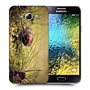 Snoogg Small Fruitnut Printed Protective Phone Back Case Cover ForSamsung Galaxy E5