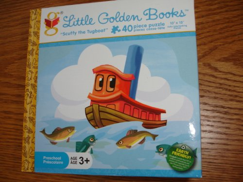 Scuffy the Tugboat 40 Piece Preschool Puzzle
