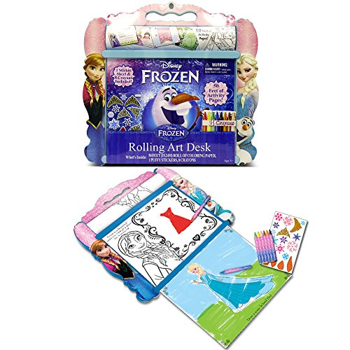 Tara Toy Frozen Rolling Art Desk