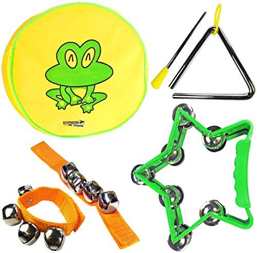 KEEPDRUM-Percussion-Set-Kinder-Tamburin-Musik-Spielzeug