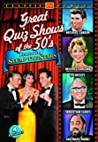 """Great Quiz Shows Of The '50s Featuring """"""""Stump The Stars"""