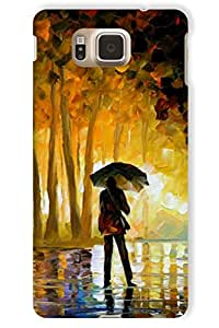 IndiaRangDe Hard Back Cover FOR Samsung Galaxy Alpha G850