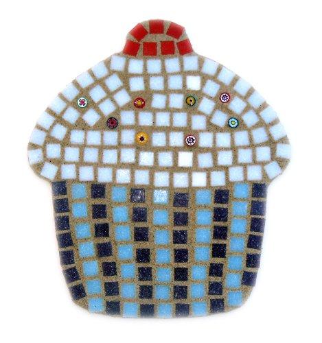 Big Coconut Cupcake Mosaic Craft Kit