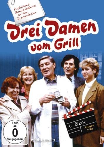 Drei Damen vom Grill - Box I (Folgen 1-26) [6 DVDs]