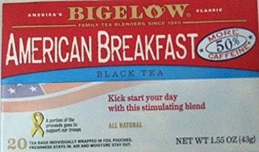 Bigelow Tea American Breakfast Tea Black Tea - 20 Tea Bags