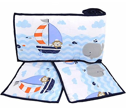 Child of Mine by Carter's Captain Cutie Crib Bumper - 1