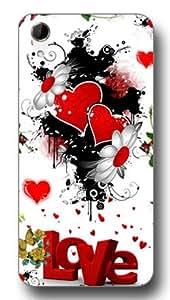 SEI HEI KI Designer Back Cover For HTC Desire 728 - Multicolor