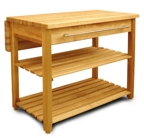Catskill Craftsmen Contemporary Harvest Table with Drop Leaf