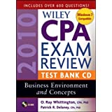 Wiley CPA Exam Review 2010 Test Bank CD - Business Environment and Concepts ~ Patrick R. Delaney