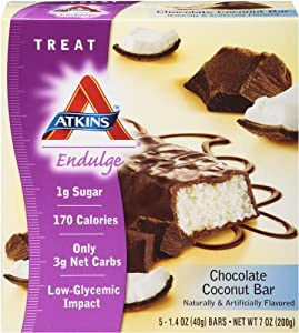 Atkins Endulge Chocolate Coconut - 5 Bars