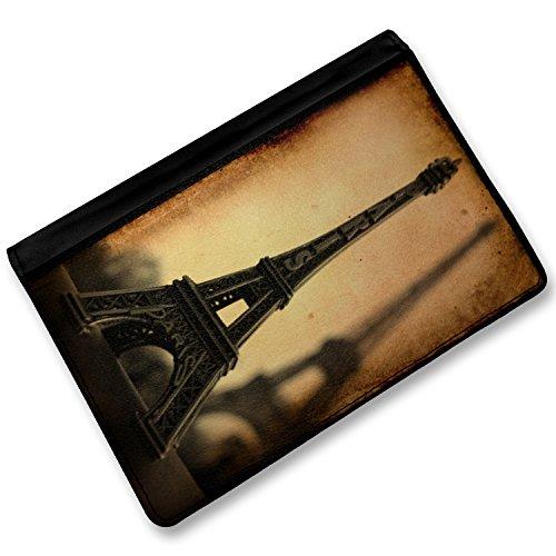 Rfid Passport Holder Paris Eiffel Tower Vintage, Cover Case / Wallet - Neonblond