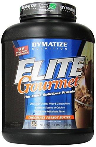 Dymatize Nutrition Gourmet Elite, Chocolate Peanut Butter, 5-Pound