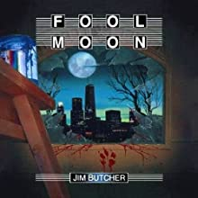 Fool Moon: The Dresden Files, Book 2 (       UNABRIDGED) by Jim Butcher Narrated by James Marsters