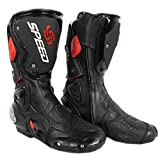 Pro Biker SPEED Motorcycle Sports Racing / Riding Boots Black Size-41