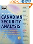 Handbook of Canadian Security Analysis