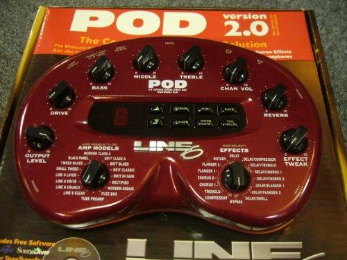【国内正規品】 Line6 (ライン6) アンプシミュレーター POD 2.0