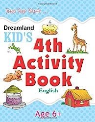 4th Activity Book - English (Kids Activity Books)