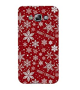 Mental Mind 3D Printed Plastic Back Cover For Samsung Galaxy E7- 3DSAME7-G1369