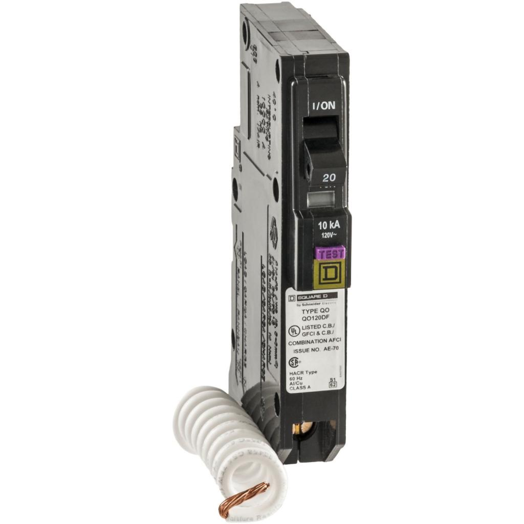 square d by schneider electric qo 20 amp single pole dual