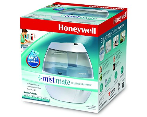 Hnwl 1.5 Gallon Cool Mist Humidifier Filter Free with Whisper-Quiet Operation, Black