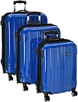 Travelers Choice Sedona 3-Piece Expandable Spinner Luggage