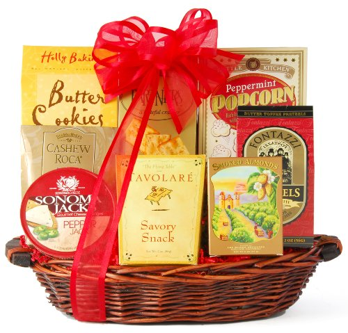 Wine.com Something Sweet & Savory Gift Basket