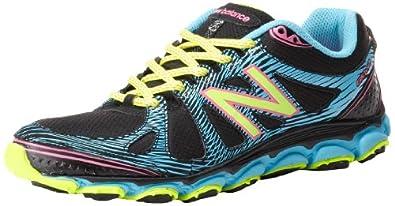 New Balance Women's WT810v2 Trail Running Shoe,Black/Blue,9 B US