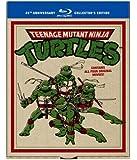 Teenage Mutant Ninja Turtles: 25th Anniversary Collector's Edition (Teenage Mutant Ninja Turtles / Secret of the Ooze / Turtles in Time / TMNT) [Blu-ray]