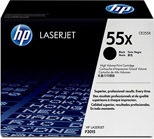 HP 55X (CE255X) Black High Yield Original LaserJet Toner Cartridge