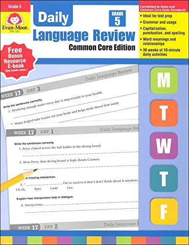 Daily Language Review, Grade 5 Common Core Edition (Advantage Math Grade 4 compare prices)