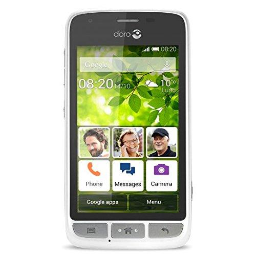 Doro Liberto820MiniWS Smartphone, Bianco