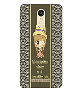 PrintDhaba Quote D-4306 Back Case Cover for XIAOMI REDMI NOTE 3 MEDIATEK (Multi-Coloured)